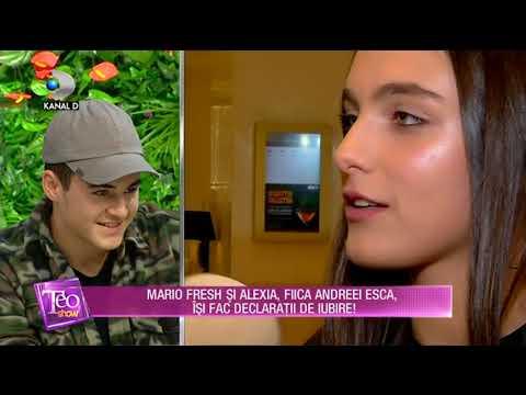 Teo Show (03.10.2017) - Mario Fresh si fiica Andreei Esca, declaratii de iubire! Partea II