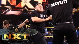 Karrion Kross provokes Samoa Joe into brawl with security guards: WWE NXT, August 3, 2021
