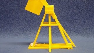 3d Printed Model Trebuchet, Custom Design In Autodesk Inventor