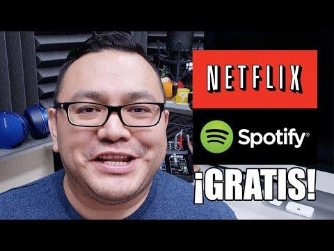Gánate una licencia de Spotify Premium ó Netflix UHD 4K Mp3