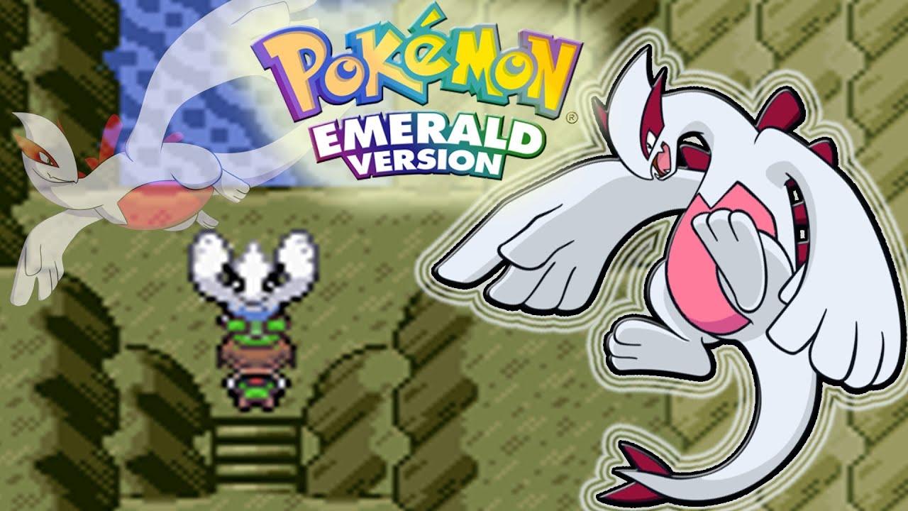 Pokemon Emerald| Lugia Event [Shiny] - Navel Rock & How to ...