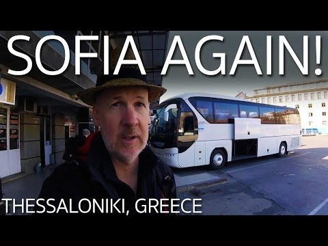 Bus Plovdiv Bulgaria to Thessaloniki Greece