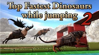 Top Fastest Creatures in ARK while JUMPING 2 || ARK: Survival Evolved || Cantex