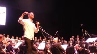קרליבך באופרה כנפי רוח הזמר יצחק מאיר עם המנצח העולמי יעקב רוטנר 13 11 2016