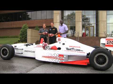 Ryan Hunter-Reay Visits University of Alabama