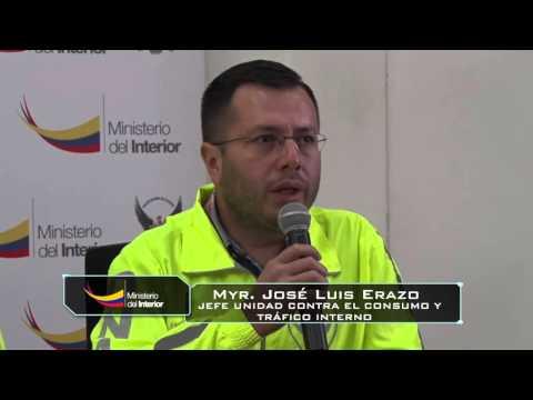 Tonelada y media de droga fue decomisada y tenía como destino Quito, Guayaquil y Europa