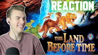 The Land Before Time (1988) - MOVIE REACTION - FIRST TIME WATCHING!