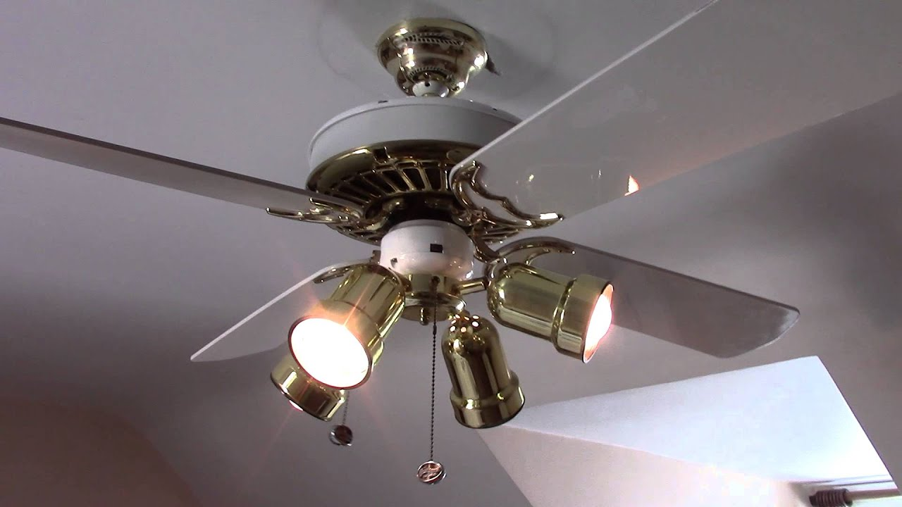 W Amp B Casablanca Delta Ii Ceiling Fan Youtube