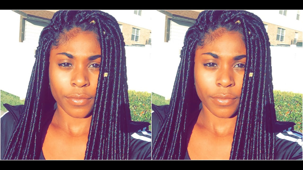 HOW TO CROCHET DREADS ft JANET COLLECTION DOES THE HAIR LAST