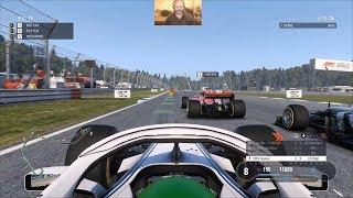 F1 2018 Career Mode Season 1 - Hockenheimring Race - PC 1080P60 HD
