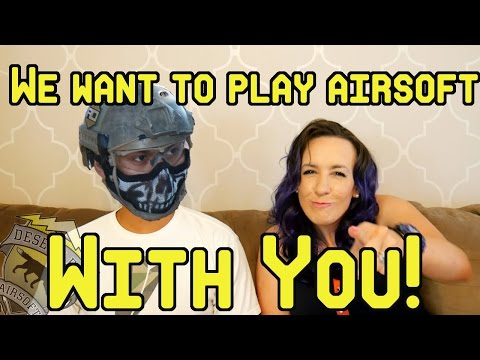 We want to play airsoft with YOU! (Hawaii, Virginia, Rhode Island and more!)