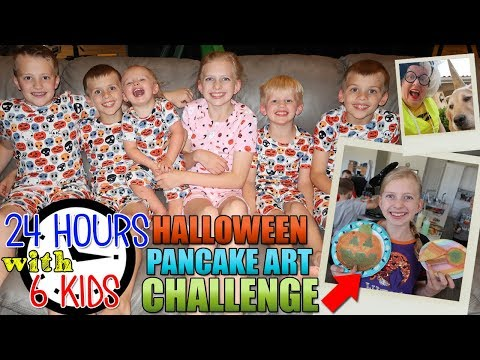 24 Hours with 6 Kids on Halloween