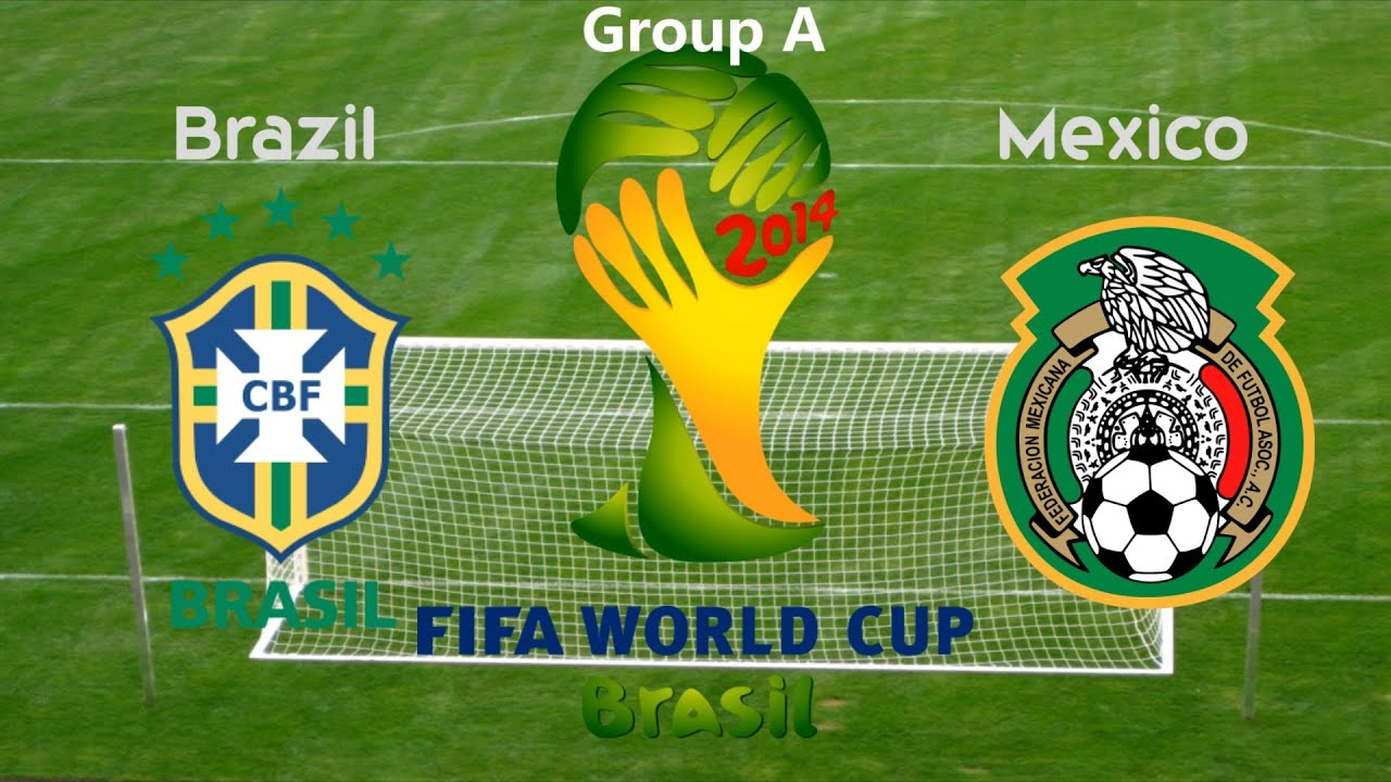 World Cup 2014: Brazil vs Mexico (Game Analysis) - YouTube