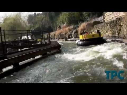 Alton Towers Resort - Congo River Rapids On Ride POV 2012 (1080p)