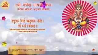 Shri Ganesh Gayatri Mantra - Tatpurushaya vidmahe, vakratunDaya dhimahi