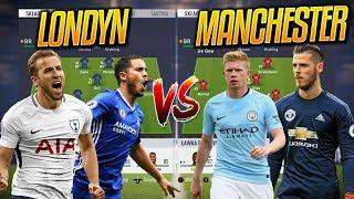 Co jeśli LONDYN oraz MANCHESTER posiadałyby własne zespoły ? | FIFA 18 EKSPERYMENT