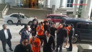 Melaka vice den protection racket: Remand for nine cops, civilians extended