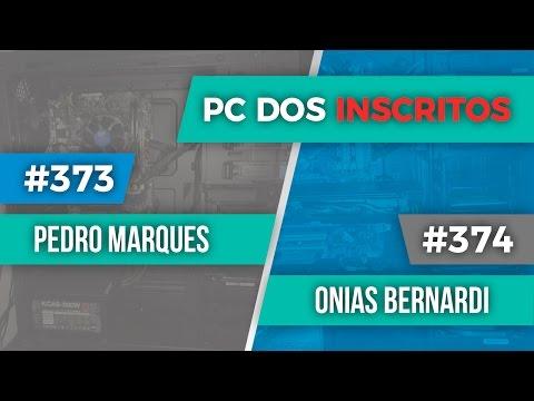 PC dos inscritos Pedro Marques #373 e Onias Bernardi #374