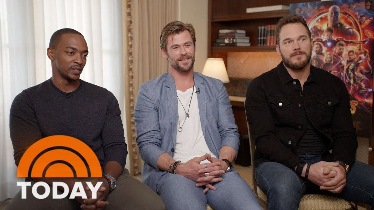 Chris Pratt, Chris Hemsworth And Anthony Mackie Talk 'Avengers: Infinity War' | TODAY