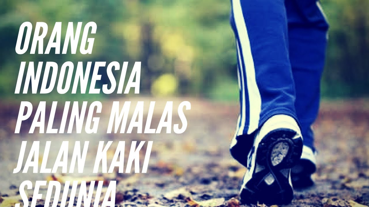 "Orang Indonesia Juara ""Malas Jalan Kaki"" Sedunia"