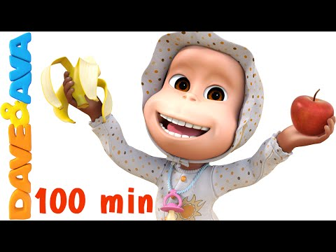 Thumbnail: Apples and Bananas Song | Nursery Rhymes Collection and Baby Songs from Dave and Ava