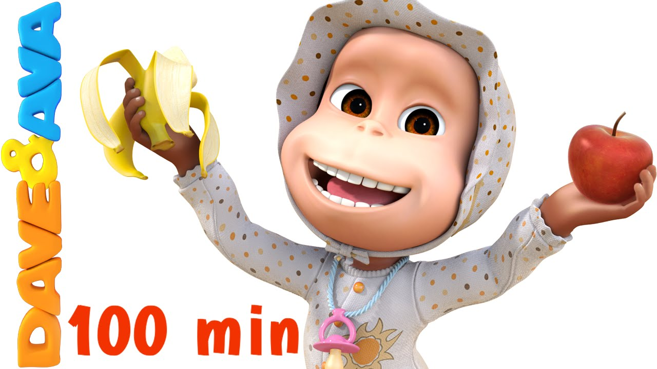 Les And Bananas Song Nursery Rhymes Collection Baby Songs From Dave Ava You