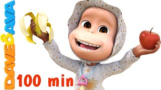 Download Apples and Bananas Song | Nursery Rhymes Collection and Baby Songs from Dave and Ava Mp3 and Videos