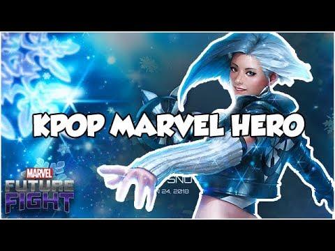 LUNA SNOW! KPOP MARVEL HERO (...is paywall) - Marvel Future Fight