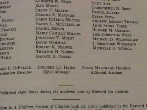 obama harvard law thesis As president of the harvard law review and a law professor in chicago, senator barack obama refined his legal thinking, but left a scant paper trail.