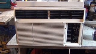 Cleaning An A/C Window Unit for better performance