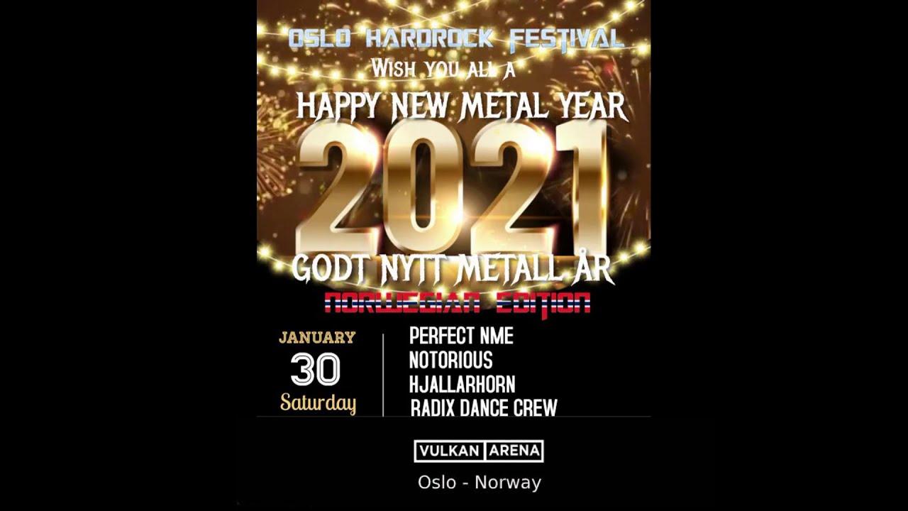 Happy New Year From Oslo Hardrock Festival