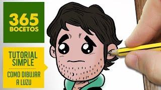 COMO DIBUJAR A LUZU KAWAII PASO A PASO - Dibujos kawaii faciles - How to draw Luzu