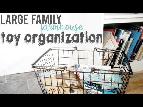 TOY STORAGE ORGANIZATION | GET ORGANIZED WITH ME