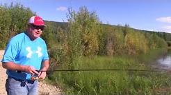 Alaska's Chena Lakes Trout Fishing
