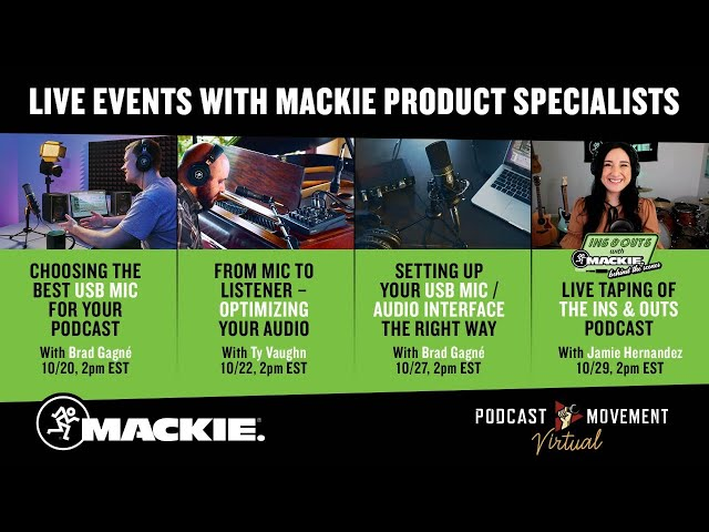 Setting up Your USB Mic / Audio Interface the Right Way - Podcast Movement Seminar