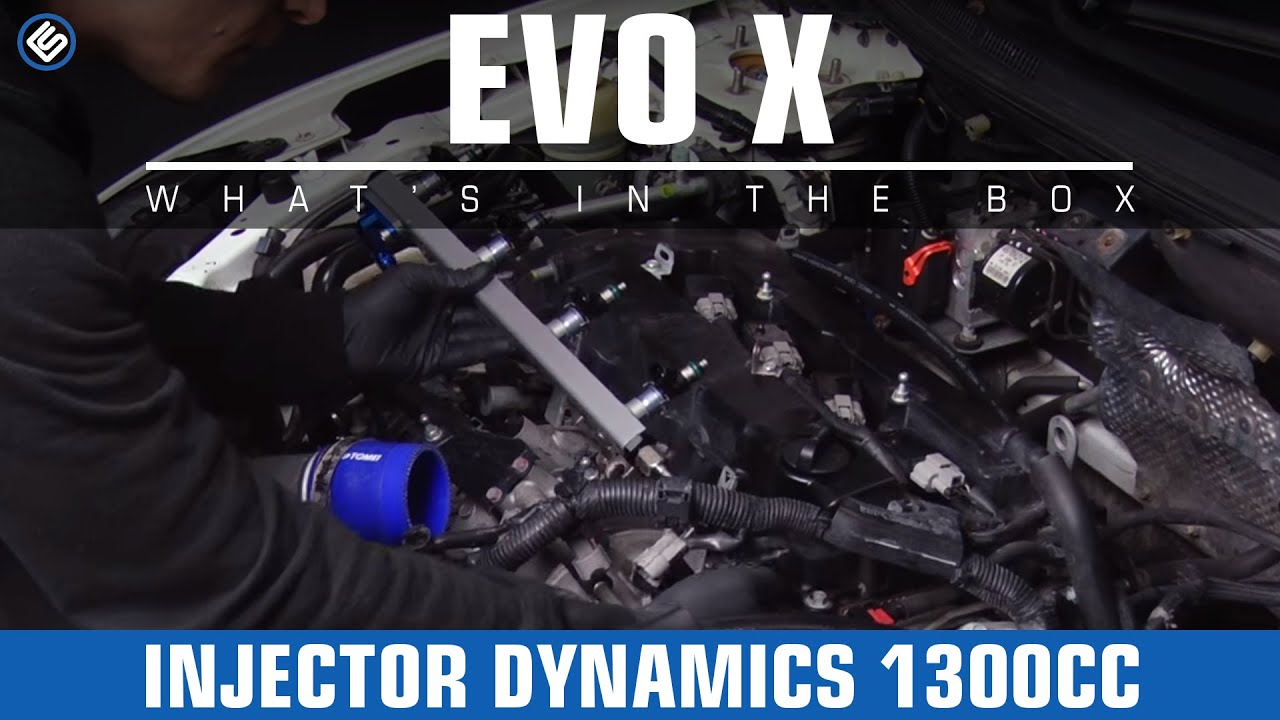 Injector Dynamics Fuel Injectors 1300cc - 08-15 EVO X - Install/Review