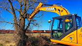 Excavators and Chainsaws