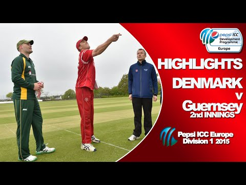 DENMARK v Guernsey - Match Highlights