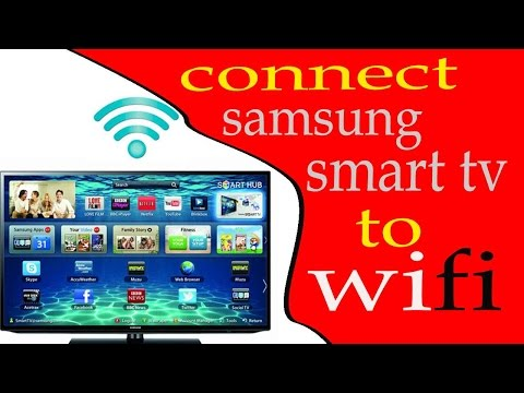 How to hook up your smart tv to wifi