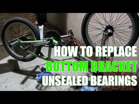 How to Remove & Install Bottom Bracket Bearings American BB (Mid BB)