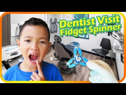 FIDGET SPINNER Dentist for Fillings and Cleaning, Kids and Family Fun Dental Office - TigerBox HD