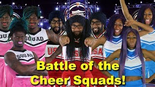 battle of the cheer squads 🔥😂 random structure tv