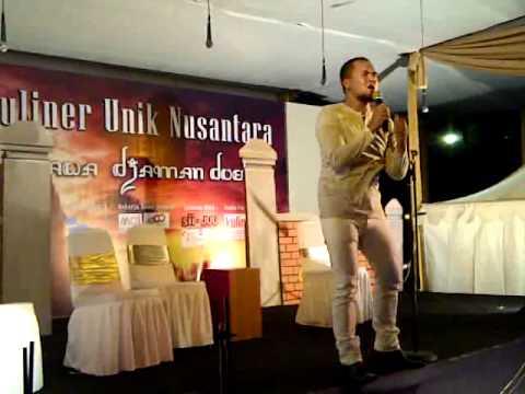 saipul jamil   virginia bidadariku @festival kuliner unik nu
