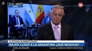 """Comentario editorial de Roberto García en su programa """"La mirada"""" - 09/04/18"""