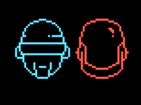 Daft Punk  Crescendolls 8BIT Flashbob Remix