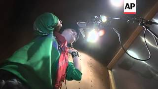 Outspoken female rapper issues challenge to Afghan society