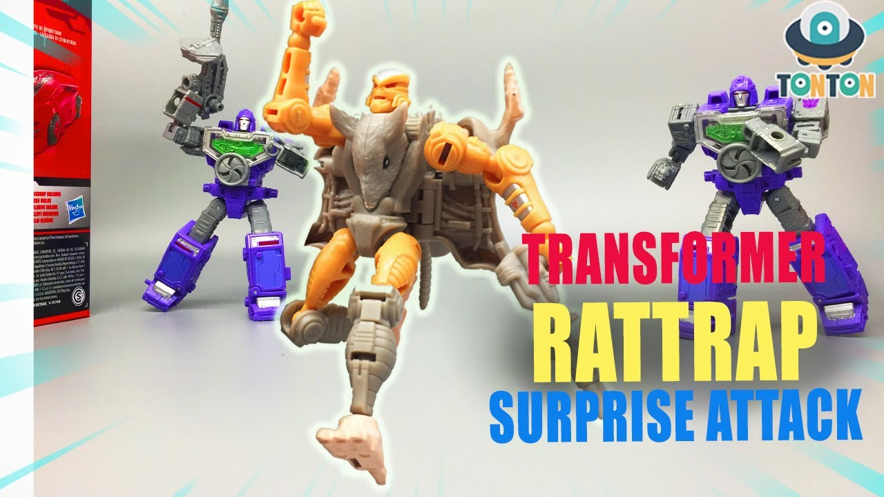 First Look at Rattrap Transformers Kingdom In-Hand Stop Motion Preview