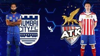 Mumbai city FC vs ATK | highlights ISL 2018 - 19 | ATK vs Mumbai CITY Highlights All GOALS HERO ISL