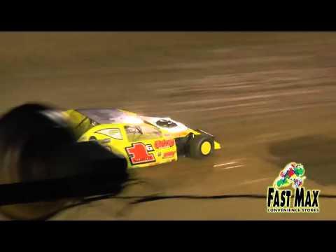 Jamie lomax wins brownstown speedway