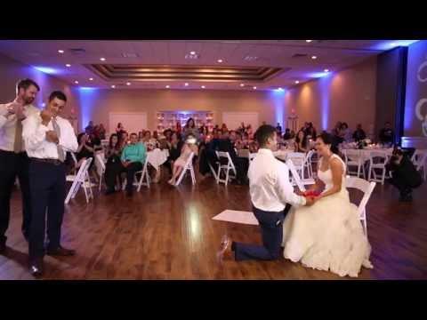 Amazing Wedding Surprise Groomsmen Dance